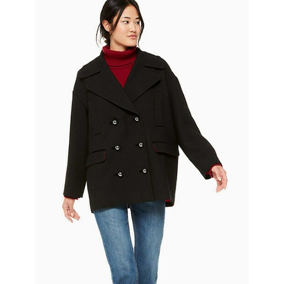 Kate Spade Peacoat Broome Street Double Breasted